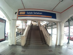 Salak South LRT station entrance.jpg