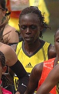 Salina Kosgei Kenyan long-distance runner