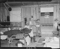 Salinas Assembly Center, Salinas, California. Barracks interior at assembly center where persons of . . . - NARA - 536173.tif