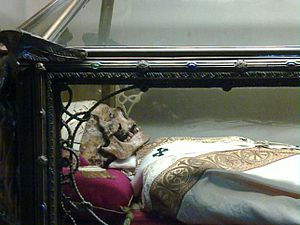 Dionysius (bishop of Milan) - Relic of Saint Dionysius, Cathedral of Milan