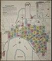 Sanborn Fire Insurance Map from Evansville, Vanderburgh County, Indiana. LOC sanborn02327 002-1.jpg