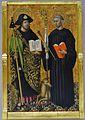 Sant Jaume i Sant Gil Abat, Joan Reixac, Museu de Belles Arts de València.JPG