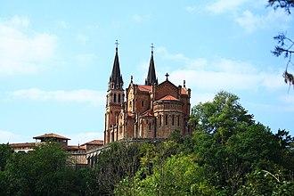 Santa Cueva de Covadonga - The Basilica de Santa María la Real