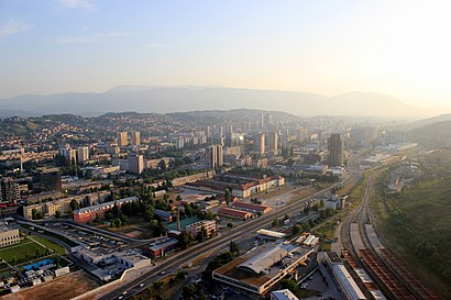 How to get to Novo Sarajevo with public transit - About the place