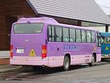 Saroma town bus Ki200Z 0146rear.JPG