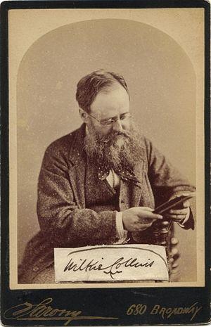 Wilkie Collins - Photograph by Napoleon Sarony, 1874