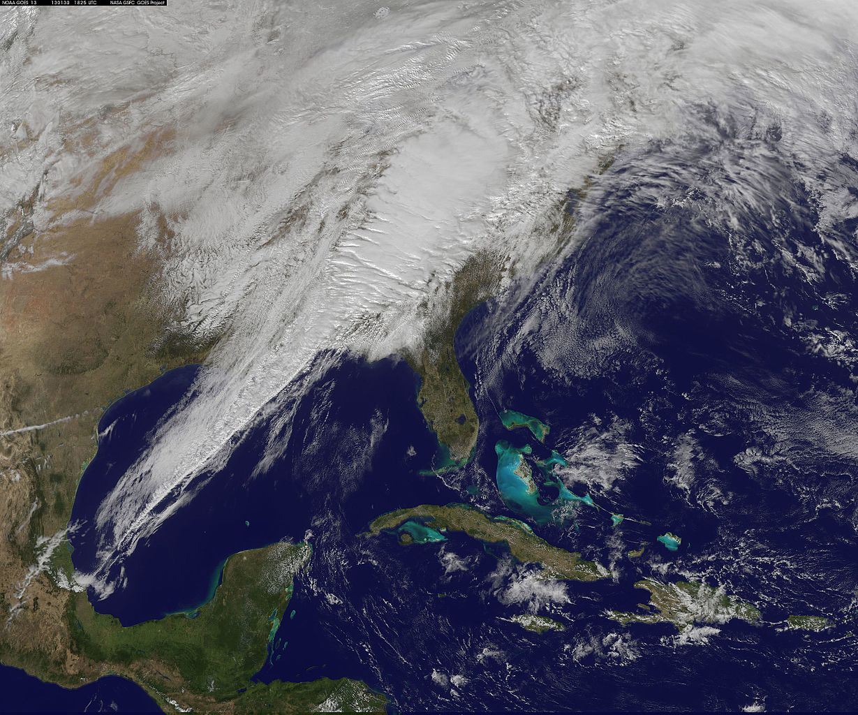 FileSatellite Image Shows Eastern US Severe Weather System - Us severe weather alerts map