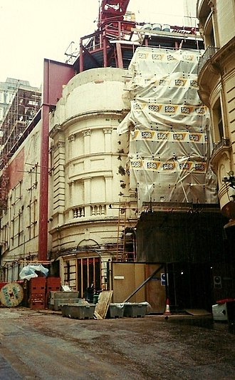 Savoy Theatre - The Savoy Theatre was refurbished in the early 1990s.