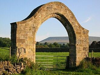 Sawley Abbey - Image: Sawley Abbey