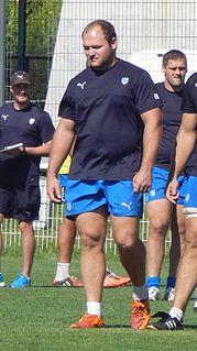Schalk van der Merwe (rugby union) Rugby player