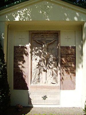 Karl Scharnagl - Grave of Karl Scharnagl, Ostfriedhof, Munich