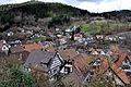 Schiltach Blick auf Altstadtdächer und Geroltzhäuser Weg.jpg