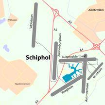 Sân bay Amsterdam Schiphol-Phương tiện-Schiphol-overview