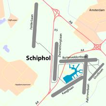 Амстердамский аэропорт Схипхол.