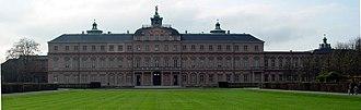 Duchess Sibylle of Saxe-Lauenburg - The Schloss Rastatt in Rastatt.