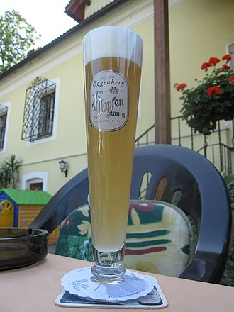 Beer glassware - Pilsner glass from Brauerei Schloss Eggenberg