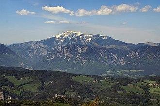 Two-thousander - Image: Schneeberg 2