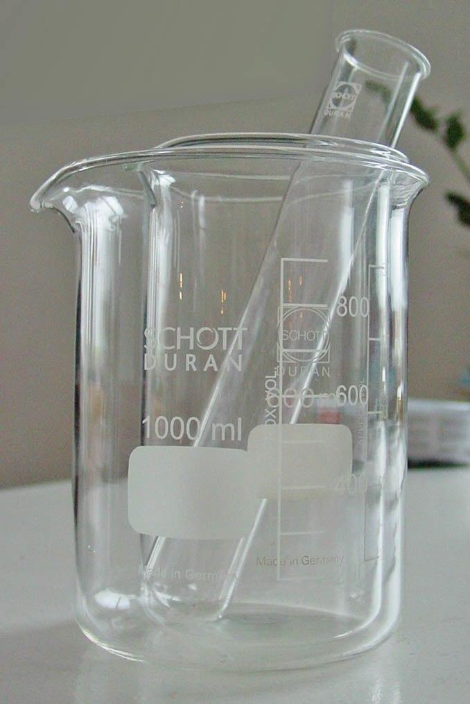 Schott Duran glassware