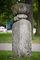 Sculpture Einschnuerung Otto Almstadt Zoo Hanover Germany 02.jpg