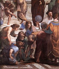 Euclid in Raphael's School of Athens