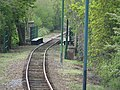 Seaton tramway curves over a bridge south of Colyton - geograph.org.uk - 1285027.jpg