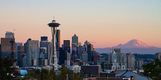 Seattle Kerry Park Skyline.