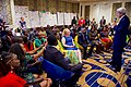Secretary Kerry Addresses a Group of 50 Kenyan Young African Leader Initiative Mandela Washington Fellows and Graduates of the YALI Regional Leadership Center for East Africa in Nairobi (29156796855).jpg