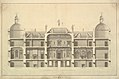 Section of the East Front, Houghton Hall, Norfolk MET DP829089.jpg