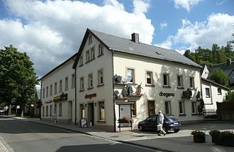 Wooden toymaking in the Ore Mountains - DREGENO's main premises: the Guild of Turners, Woodcarvers, Woodworkers and Toymakers in Seiffen