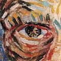 Self-portrait with Felt Hat by Vincent van Gogh (detail of eye).jpg
