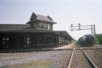 Selma Union Depot - Image: Selma Smithfield CSX Freight 2
