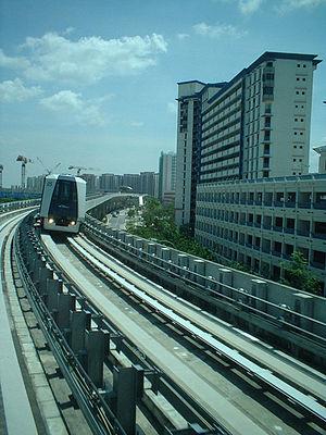 Sengkang LRT Line - Image: Sengkang LRT