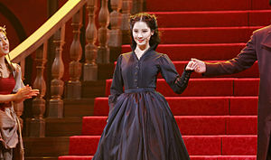 Seohyun - Seohyun performing Gone with the Wind musical in 2015