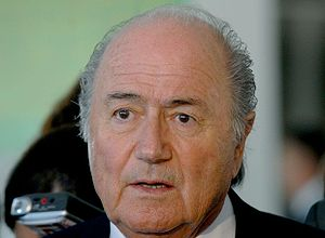 300px Sepp Blatter %282009%29 FIFA President Sepp Blatter Issues Half Apology for No Racism in Soccer Comment