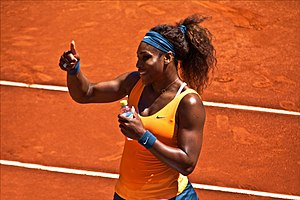 2013 Serena Williams tennis season - Serena Williams at the Mutua Madrid Open.