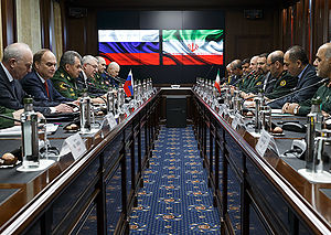 Hossein Dehghan - Dehghan with Russian Defense Minister Sergey Shoygu, 16 February 2016