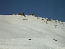 Vue du sommet de Serre Chevalier.