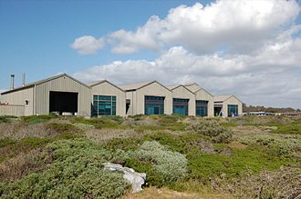 UC Santa Cruz Coastal Science Campus - Seymour Marine Discovery Center, overlooking the Monterey Bay