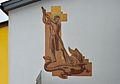 Sgraffito Saint George, rectory, Feistritz an der Drau.jpg