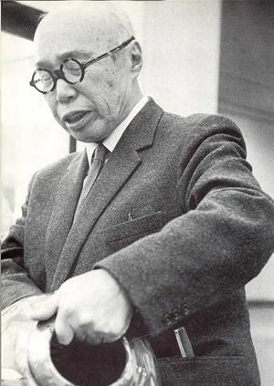 Shōji Hamada - Hamada at the University of Michigan, 1967 or 1968