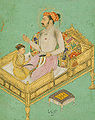 Shah Jahan with his son Dara Shikoh, from album made for Shah Jahan, ca. 1620.jpg