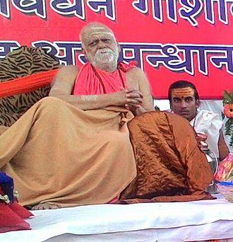 Puri - H.H Jagadguru  Swami Nischalananda Saraswati, The Shankaracharya of Puri
