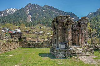 Sharada Peeth Ruined Kashmiri Hindu temple and ancient centre of learning