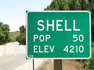 Shell, Wyoming - Sign in Shell