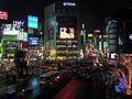 Shibuya Q-Front at night.jpg