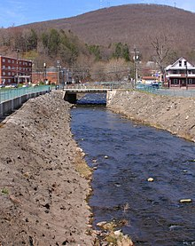 Shickshinny Creek looking upstream in Shickshinny 1.JPG