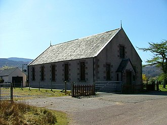 Free Presbyterian Church of Scotland - Image: Shieldaig Free Presbyterian Church of Scotland geograph.org.uk 1801549