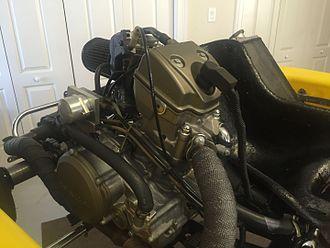 Kart racing - Shifter kart engine