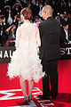 "Shimazaki Haruka & Nakata Hideo ""Ghost Theater"" at Opening Ceremony of the 28th Tokyo International Film Festival (22403472716).jpg"