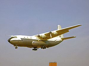 No. 53 Squadron RAF - Short Belfast heavy transport operated by 53 Squadron 1966-1976